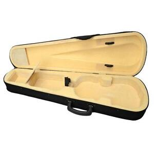 New-Professional-Beige-Yellow-Oxford-Fabric-4-4-Full-Size-Acoustic-Violin-Case