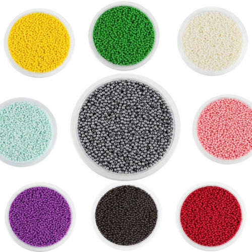 1800pcs//lot Czech Glass Round Spacer Loose Seed Beads for DIY Jewelry Making 2mm
