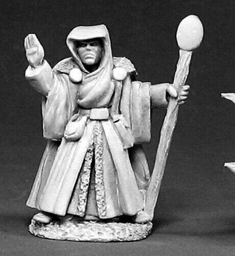 Reaper Miniatures Taladar Gomaris Grand Wizard 03258 Dark Heaven Unpainted Mini