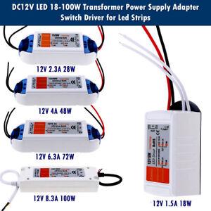 UK STOCK LED Driver Power Supply Transformer 240V - DC 12V /18W ...