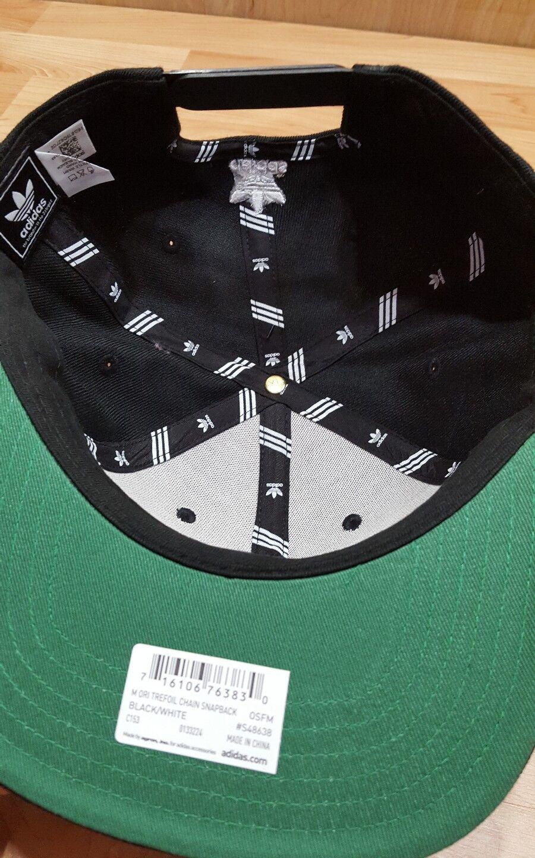 75442ab3301b5f ... best new adidas original mens thrasher chain chain chain snapback hat  black white adjustable 7131c0 e88f7