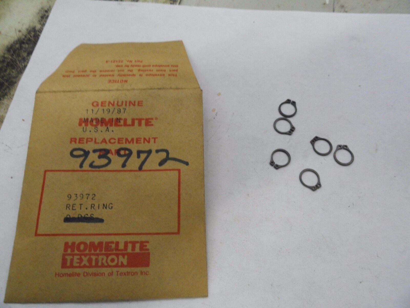 410SL NOS OEM Homelite 93972 Chainsaw Retainer Ring for 410 DM401 DM40 DM54