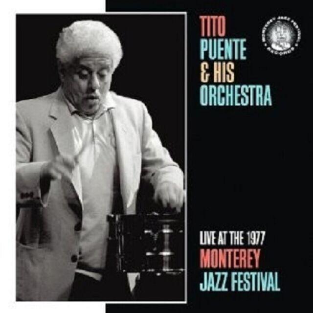 TITO PUENTE - MONTEREY JAZZ FESTIVAL LIVE 1977  CD NEW