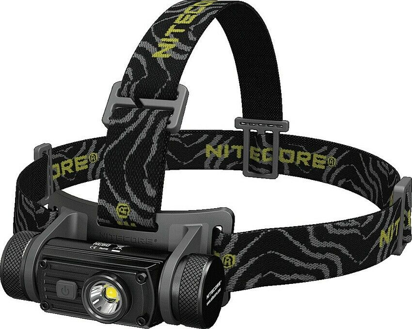 Nitecore HC60 Headlamp Water Resistant 1000 Luuomini Cree LED Light Rechargeable