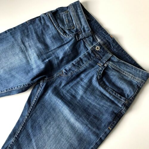 PEPE Jeans Uomo Shorts Cash Straight Regular Fit Jeans Pantaloni