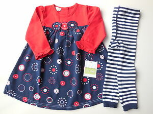 a2fbf43ce35d BEAUTIFUL QUALITY WINTER DRESS + TIGHTS BABY TODDLER GIRL Size 1 NEW ...