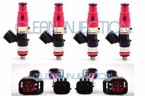 fit Nissan 180sx 240sx 200sx S13 S14 S15 SR20DET KA24DE 550cc Fuel Injectors