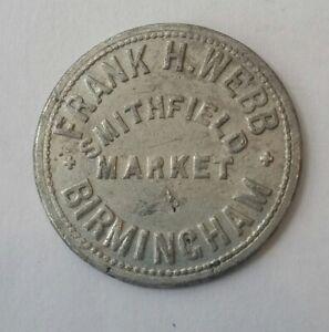 Frank H Webb  Smithfield Market  Birmingham  2/6