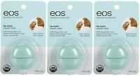 3 Pack Eos Smooth Sphere Evolution Lip Balm Sweet Mint Flavor .25oz on sale