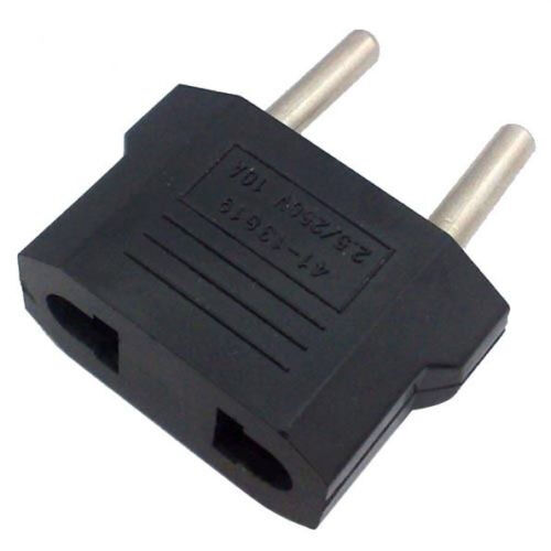 5X US//USA to European Euro EU Travel Charger Adapter Plug Outlet Converter