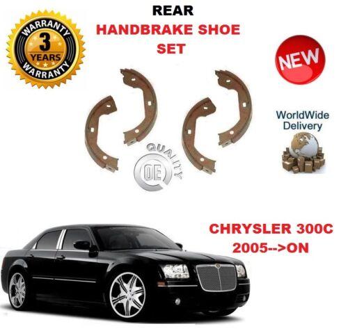 FOR CHRYSLER 300C 3.0 CRD 3.5 5.7 6.1 SRD 2005--/>ON REAR HAND BRAKE SHOE SET