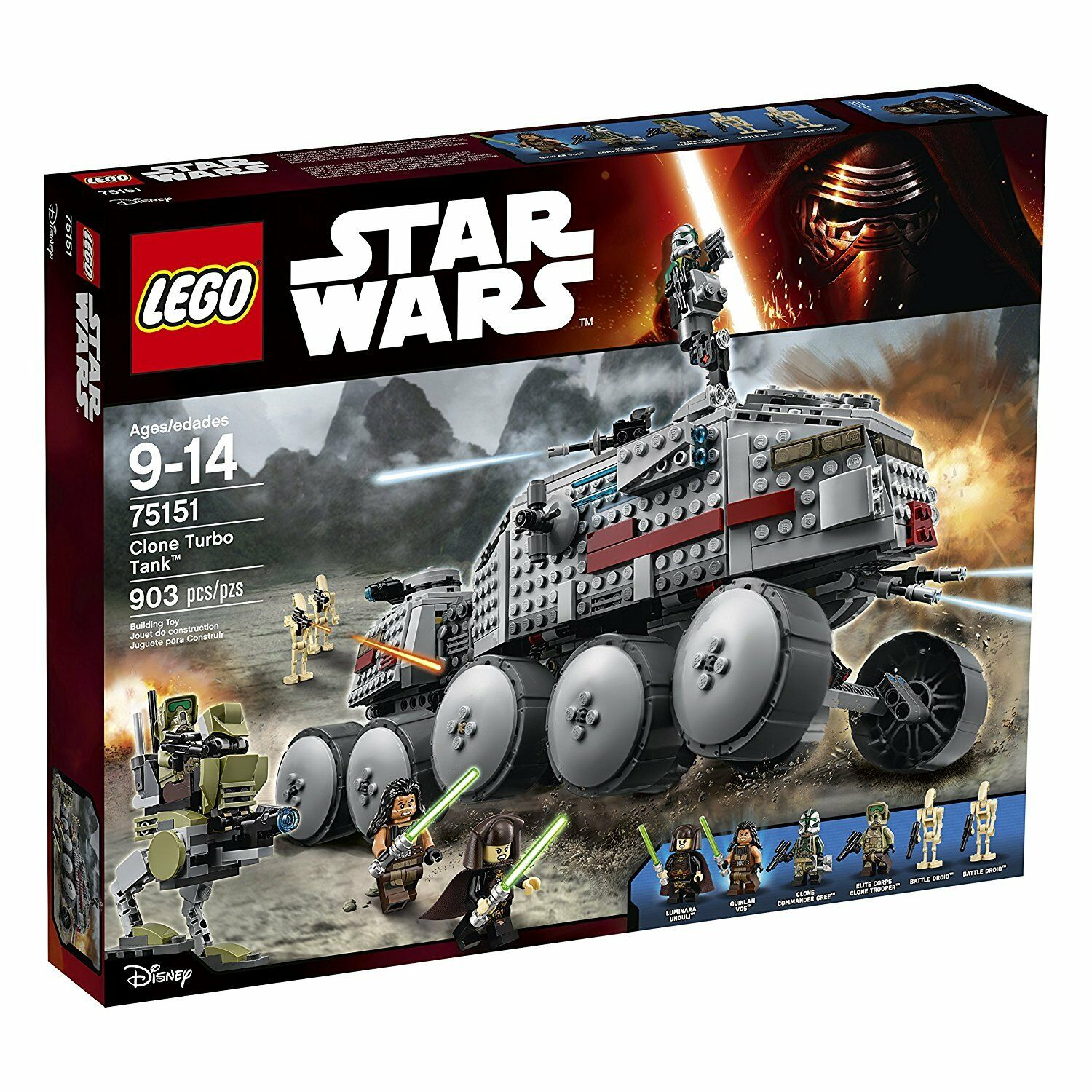 LEGO Star Wars Clone Turbo Tank 75151 - retired retired retired ac713e