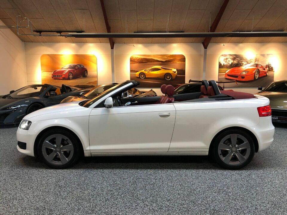 Audi A3 2,0 TFSi Ambition Cabriolet DSG Benzin aut.