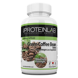 Green Coffee Bean Extract, 5000mg Weight Loss Diet Pills ...