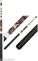 Players D-js Pool Cue - Djs - Wicked Jester - Free Ship, Joint Caps & Q Wiz