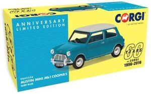 New-Corgi-Vanguards-1-43rd-Scale-Austin-Mini-MK1-Cooper-S-Diecast-Model