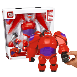 Big Hero 6 Armor Up Baymax 2 0 Action Figure Weapons Disney Official Ebay