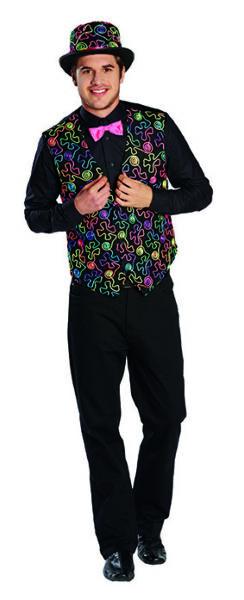 2019 Moda Freaky Dandy Gilet Gilet Colori Colorato Dandy Costume Costume Per Uomo