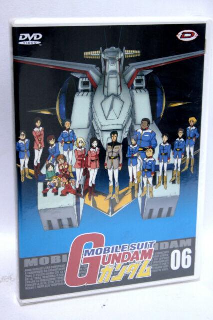 MOBILE SUIT GUNDAM 06 DVD DYNAMIC ANIME NUOVO SIGILLATO EDIZIONE ITALIANA 62999