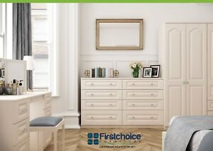Swell Details About Langley Ivory Wardrobe Chest Of Drawers Set Ready Assembled Bedroom Furniture Uk Home Interior And Landscaping Ologienasavecom