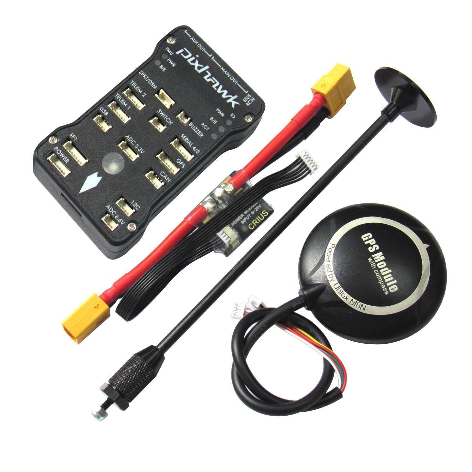 Pixhawk px4 v2.4.8 32bit Flight Controller neo-m8n GPS Power módulos Multicopter