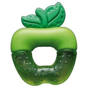 Fortuna-Gel-Filled-Apple-TEETHER-in-Green-BNIB-FT-601