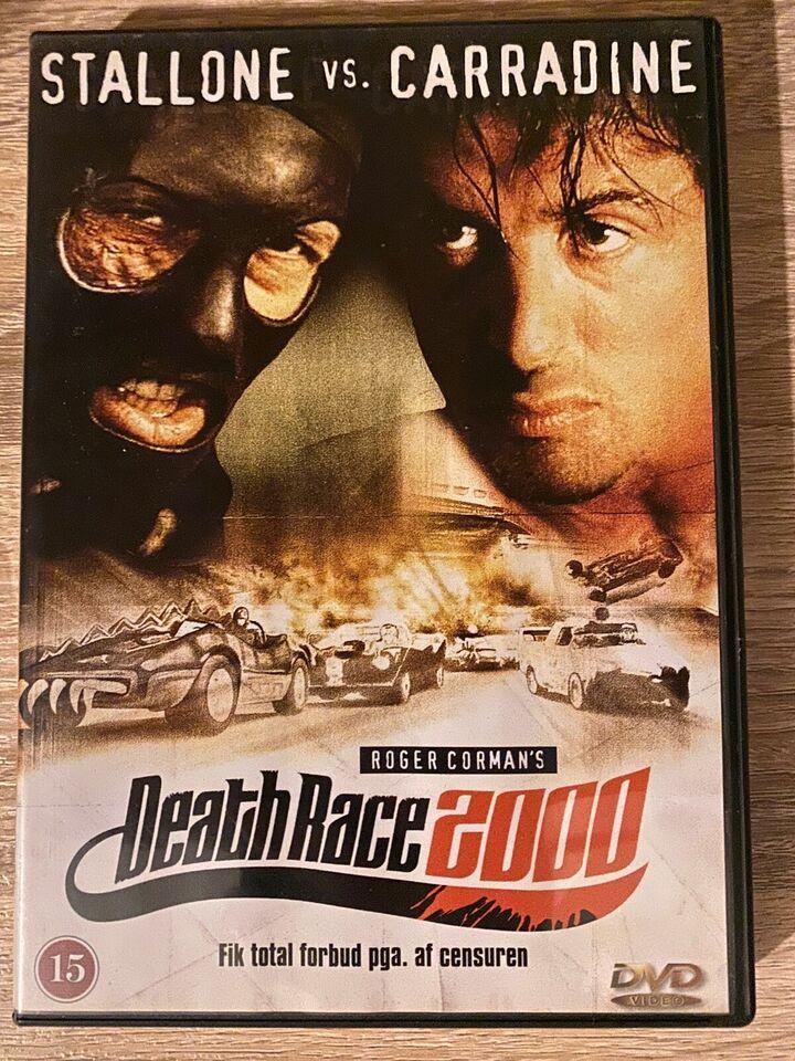 Death Race 2000 (1975), instruktør Roger Corman, DVD