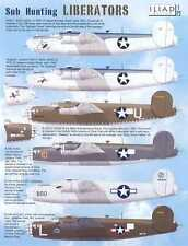 Iliad Decals 1/72 SUB HUNTING LIBERATORS Consolidated B-24 Liberator