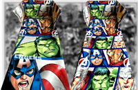 - Marvel Avengers Cot Bedding Set - Hulk Iron Man Super Heroes Double Sided