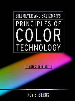 1 of 1 - Principles of Colour Technology, Berns, Roy S., Good, Hardcover