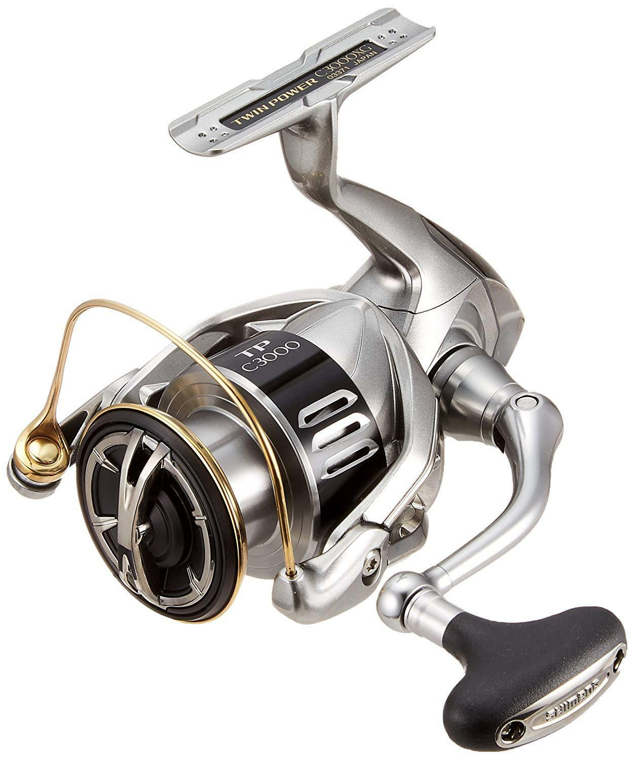 Shimano 15 Twin Power C3000XG Fishing Spinning Reel From Japan