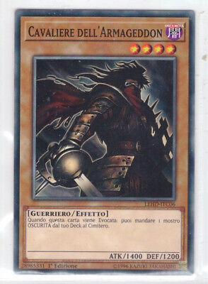 Cavaliere Dell/'Armageddon ® Knight ® Comune ® LEHD-ITC06 ® Italiano