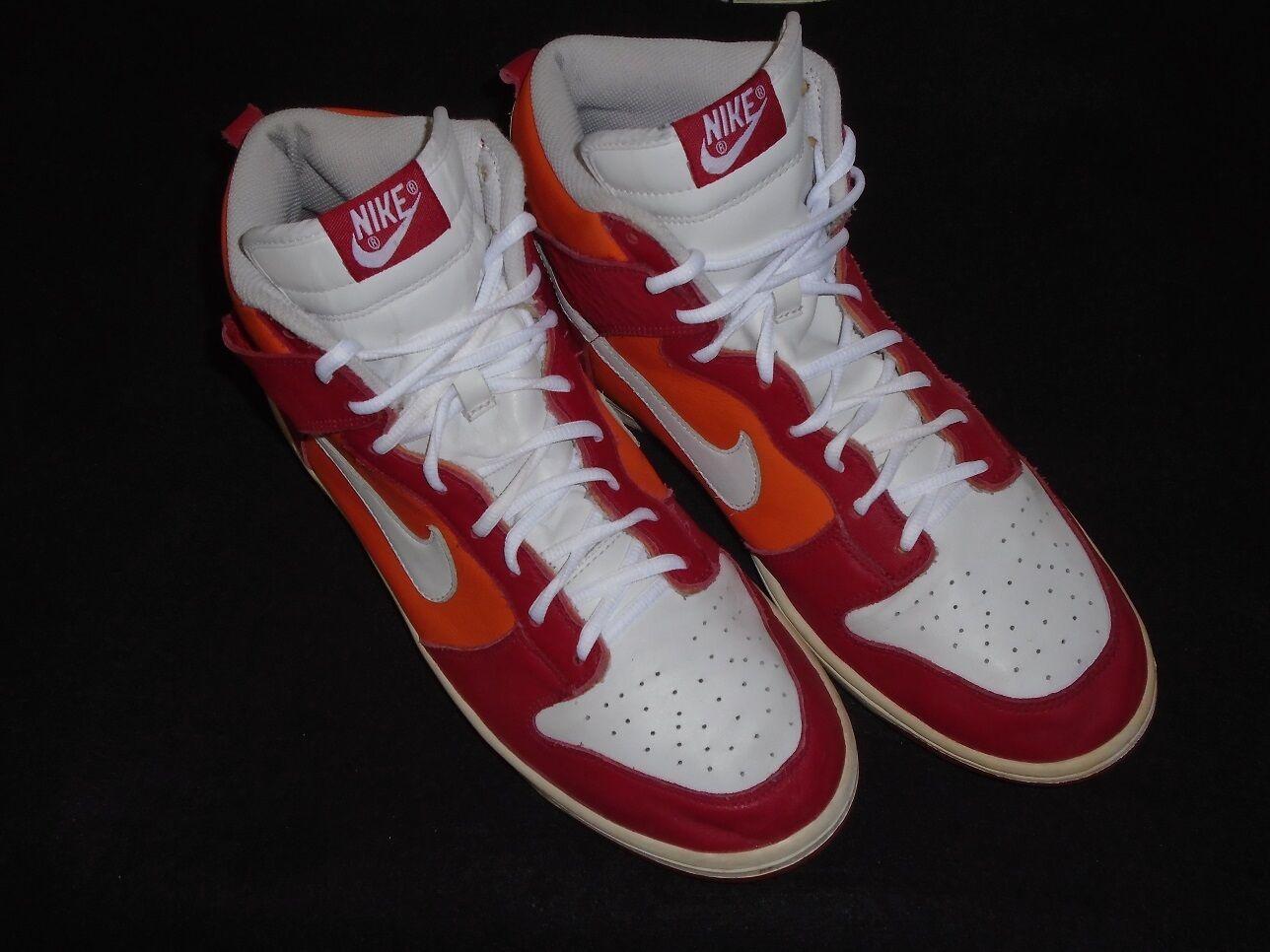 2018 Nike rojo Dunk High Hola varsity rojo Nike / Blanco-Naranja Blaze 309432-612 tamaño 13 8a0ee9
