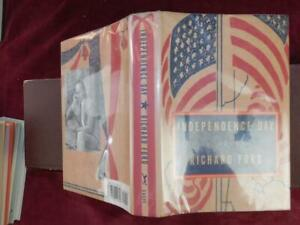 RICHARD-FORD-INDEPENDENCE-DAY-a-NOVEL-SPORTSWRITER-SCARCE-1995-1st-SIGNED