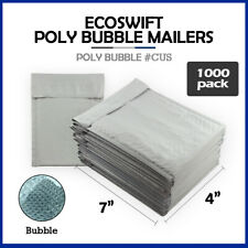 1000 0000 4x7 Ecoswift Brand Poly Bubble Mailers Small Padded Envelope 4 X 7