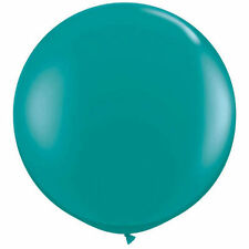 "3' HUGE 36"" Jewel Teal Qualatex Latex Balloon Party Decoration Birthday Wedding"