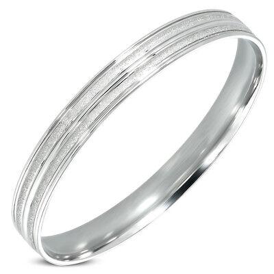 Edelstahl Armreif Armband Stainless Steel bangle Z-dba302