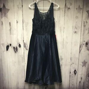 6d9b8ed4feff5 JJ s House Wedding Special Occasion Navy Blue Formal Dress Size 12 ...