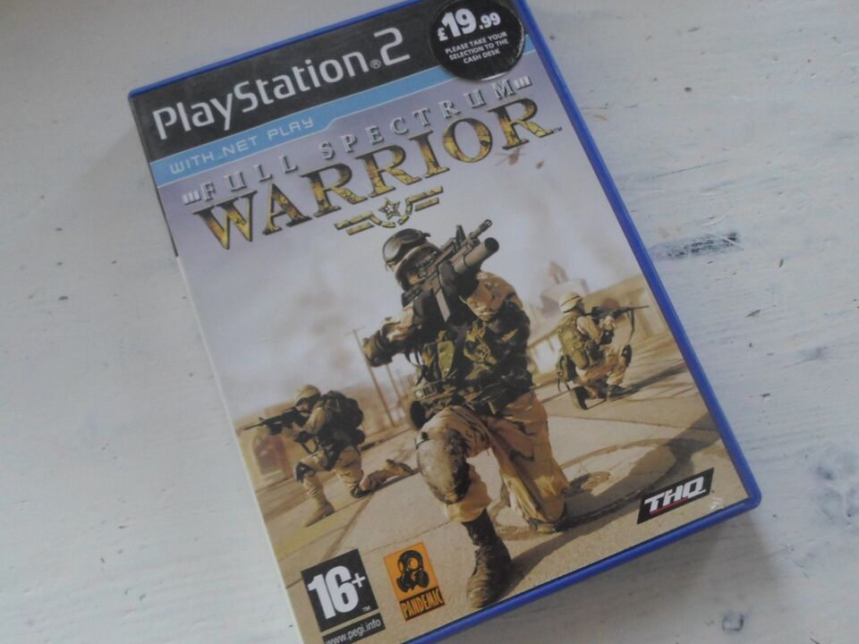 Full Spectrum warrior, PS2