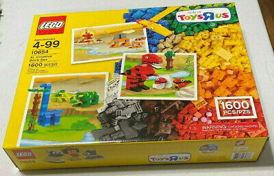 LEGO Classic XL Creative Brick Box by Toys R Us 10654 New /& Factory Sealed