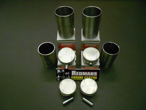 Rover K Series 1.6//1.8 Pistons liners Lot de 4 Freelander MGF MGTF 25//45