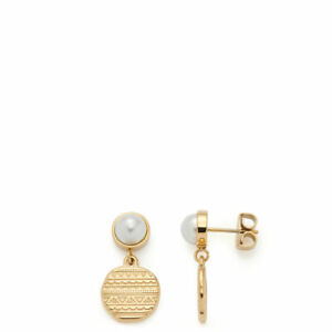 Leonardo-Jewels-Ohrstecker-Ava-gold-Perlen-Ohrschmuck-Damenohrringe-Ohrringe-Neu