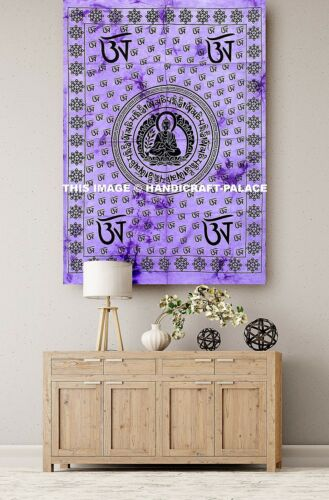 Indian Buddha Hippie Wall Hanging Ethnic Throw Wall Bohomian Tapestry Throw Arts