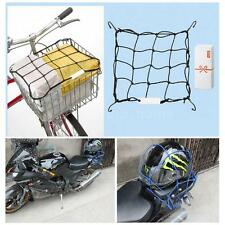 Bike Net Motorcycle 6 Hooks Fuel Tank Luggage Helmet Bungee Web 30*30cm New Z3W8