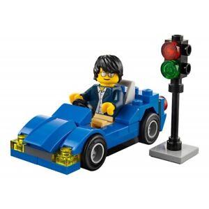 30349 SPORTS CAR promo CITY TOWN lego NEW poly bag legos set AUTOMOBILE