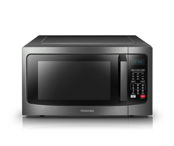 Toshiba Ec042a5c Bs Convection Microwave Oven 1 5 Cu Ft