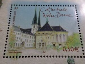 FRANCE-2003-timbre-3624-CAPITALES-EUROPEENNES-LUXEMBOURG-NOTRE-DAME-neuf-MNH