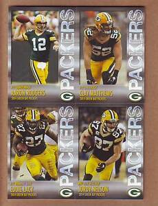 2014-Green-Bay-Packers-Police-TEAM-SET-Aaron-Rodgers-Matthews-Lacy-Cobb-Jordy