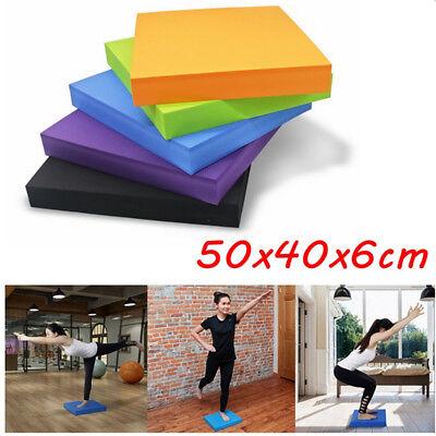 40*35*5cm Balance Pad Anti Slip Board Yoga Wobble Stability Trainer Mat Foam