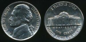 United-States-1987-D-5-Cents-Jefferson-Nickel-Uncirculated